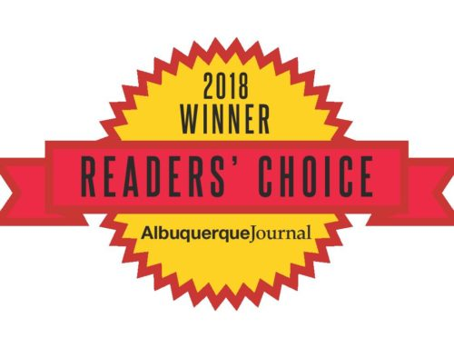 2018 Albuquerque Journal Readers Choice Winner For Personal Injury Lawyer
