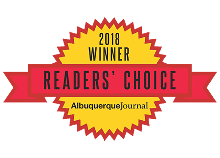 New Mexico Personal Injury Attorny Readers choice Awards